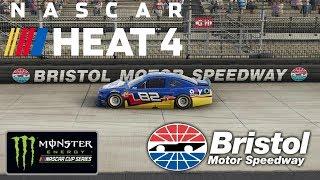 BRISTOL!   NASCAR Heat 4   Championship Season   Monster Energy NASCAR Cup Series   Race 8