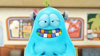 Funny Animated Cartoon | Spookiz | He Ate The Rubik's Cube!! | 스푸키즈 | Cartoon For Children