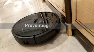 ABIR X6 robot vacuum cleaner with Camera Navigation