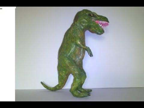 Tiranosaurio Rex Hecho De Papel Youtube