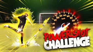 POWERSHOT FOOTBALL CHALLENGE!