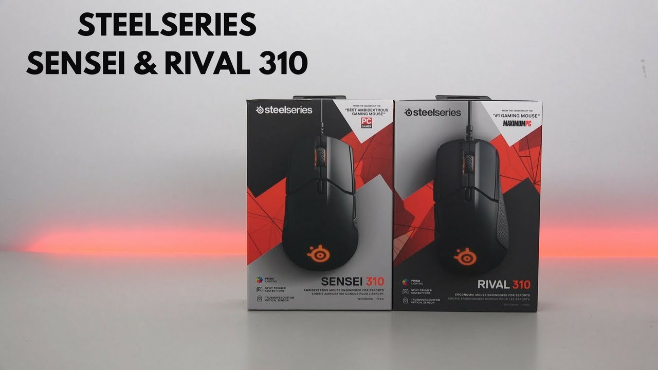 SteelSeries Rival and Sensei 310 Review