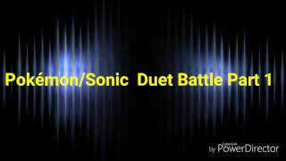 Duet Battle Pokémon/Sonic