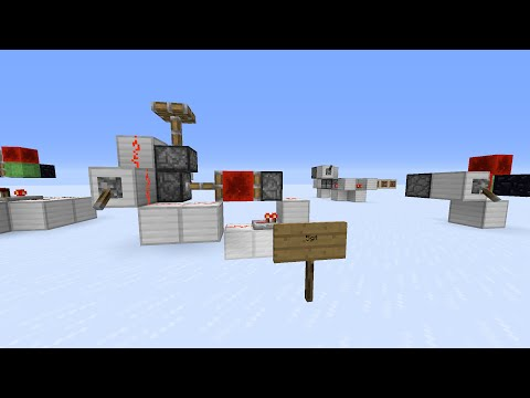Overview of Minecraft Clock Circuits