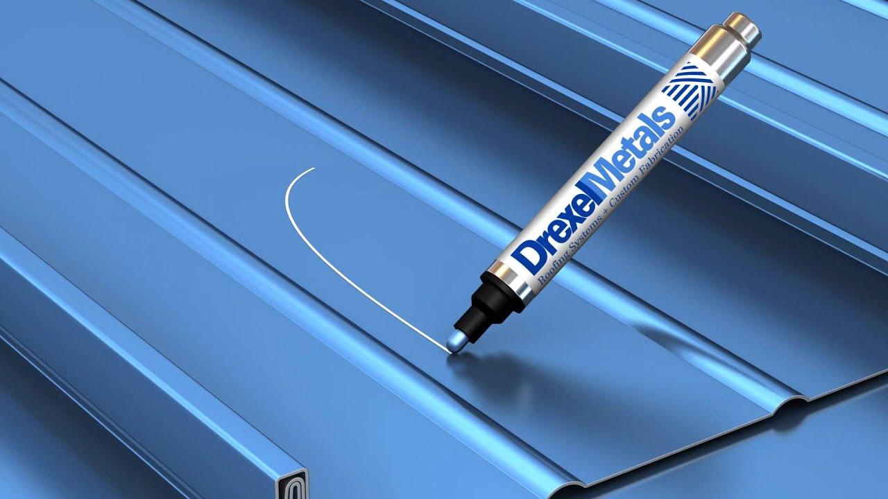Drexel Metals Paint Pen The Original Metal Roof Touch Up