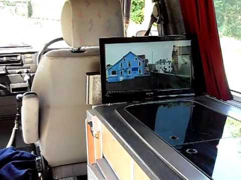 Vw T4 Camper Camper Van Pop Up Television Youtube