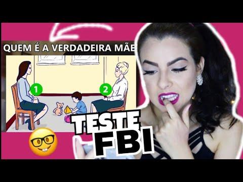 TESTE AGORA SE PODE SER UM AGENTE DO FBI! - 5 TESTES.