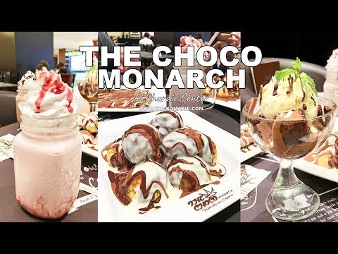The Choco Monarch in Al Ghurair Center, Al Rigga, Dubai | Kriska Marie