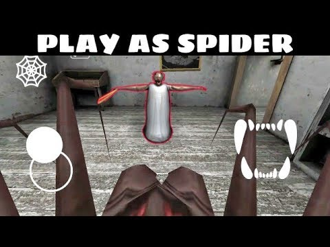 GRANNY TOP HACK – PLAY AS SPIDER !! BEST HACK OF GRANNY HORROR GAME