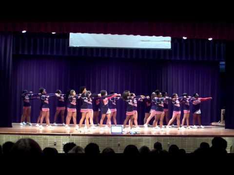 Denbigh High School Freshman Orientaion Cheerleaders, 8-29-00