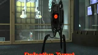 Portal 2 - 'Defective' Turret thumbnail