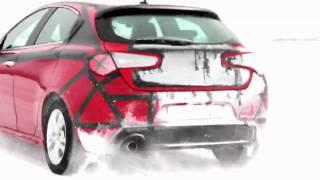 Alfa Romeo Giulietta: winter test drive in Sweden  - Exclusive video