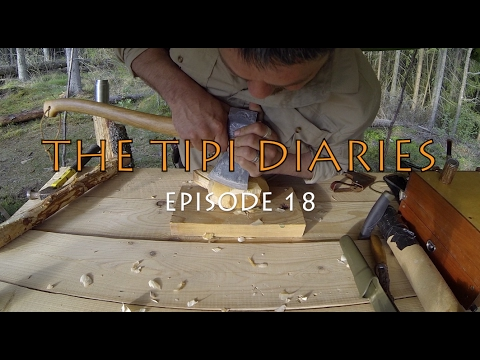 The Tipi Diaries Ep18 - Bushcraft Sweden Wilderness Adventure