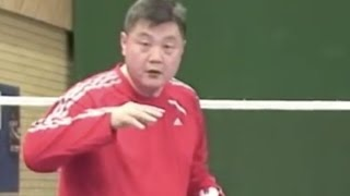 Badminton: Follow Lee (2) The Net Kill 2-6 (How to move feet)