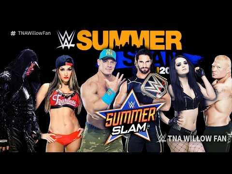 [AUDIO REMOVED] WWE SummerSlam 2015/2016...