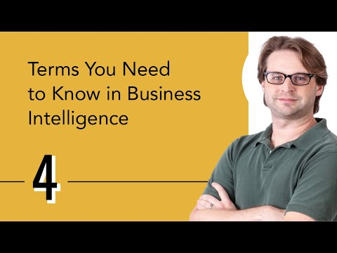 Terms You Need To Know In Business Intelligence