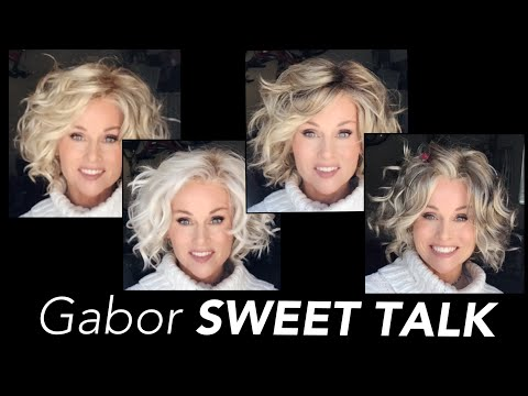 Gabor SWEET TALK Mega Wig Review In 4 COLORS | GL14-22SS | GL23-101SS | GL15-26 | GL18-23 | STYLING
