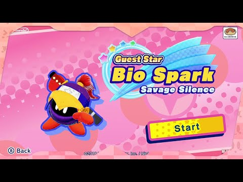Guest Star: Bio Spark | Kirby Star Allies For Switch ᴴᴰ (2018)
