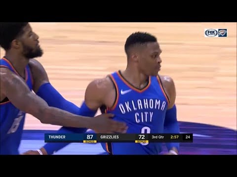 NBA 2018: Westbrook Unbelievable crossover, Vengeance Dunk