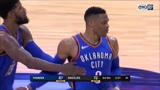 NBA 2018: Westbrook Unbelievable crossover, Vengeance Dunk