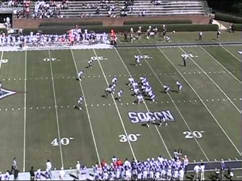 Chris Forcier #5 QB Senior Year Highlights Furman 2012.m4v