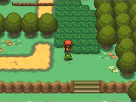 Pokemon Firegold Walkthrough Part 1 The Beginning Firered Remake Youtube