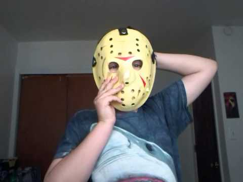 Neca Friday The 13th Part 3 Hockey Mask Review Youtube