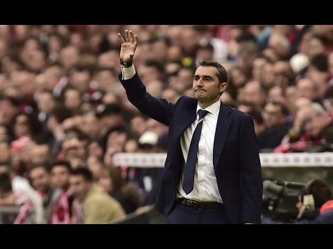 Ernesto Valverde confirmed as the new Barcelona manager