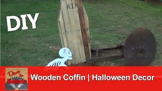 How To Make A Wooden Coffin For Halloween Decoration Using Pallet Wood