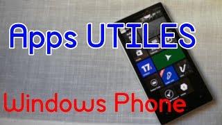 Top de las mejores APPS UTILES para Windows Phone