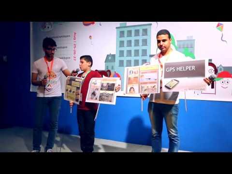 ستارت اب ويكند كدز - غزة  في يومه الاول  Startup Weekend Kids - Gaza