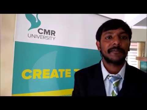 CMR University Postgraduate Programmes 2016-2017