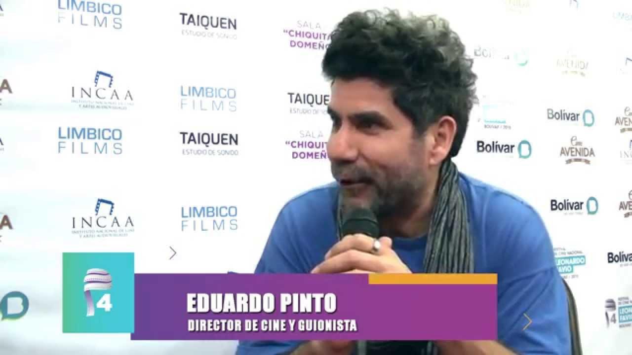 Eduardo Pinto director de cine y guionista - Festival 2015 - YouTube