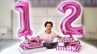 Tiana's 12th Birthday Morning Opening Presents!!