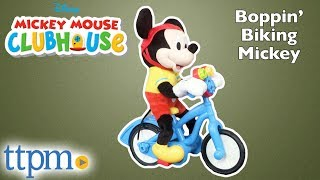 Mickey Mouse Clubhouse Boppin' Biking Mickey from Just Play