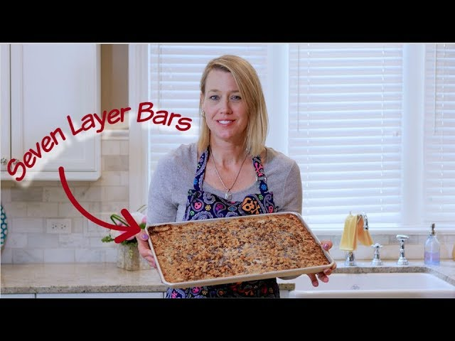 Baked By Betsy - Episode 3: Seven Layer Bars