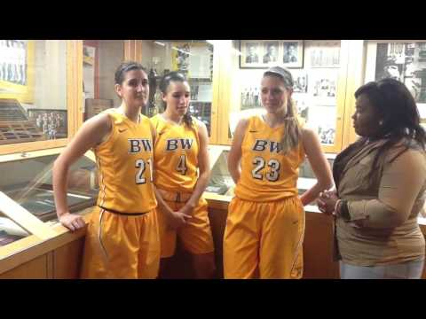 BW Women's Basketball Post Game Interview