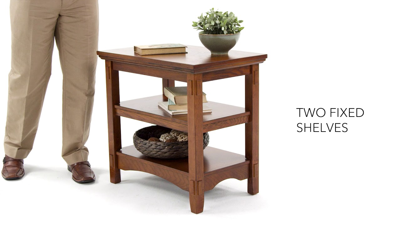 ashley homestore cross island chairside end table