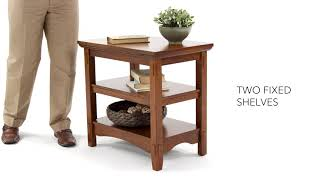 Ashley HomeStore | Cross Island Chairside End Table