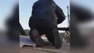 Широкино, бой ведут Украинские военные Кадры с мобильного телефона!