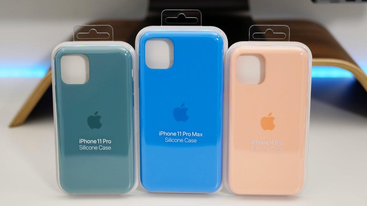 Apple Custodia in silicone Surf per iPhone 11 Pro Max