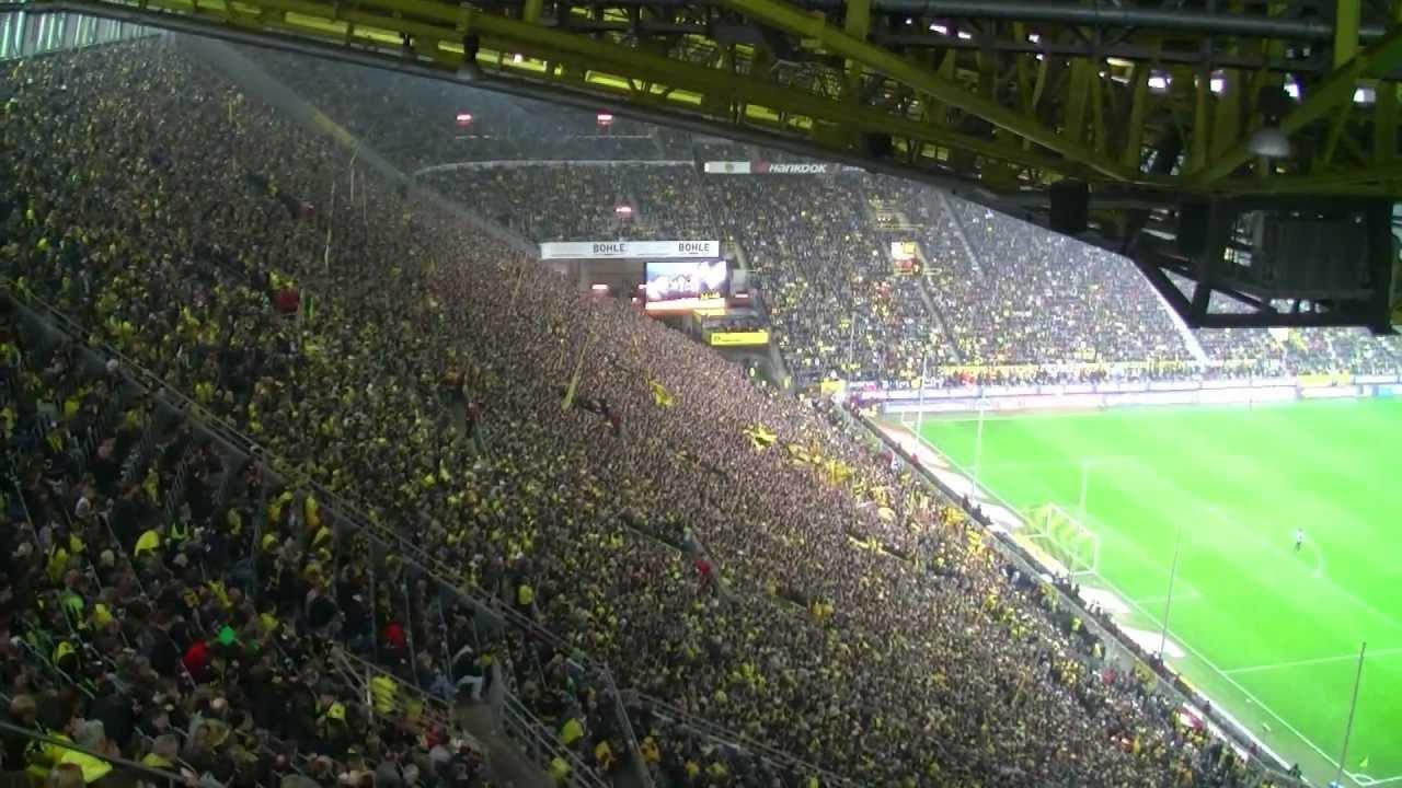 Stimmung Südtribüne Best-of: Borussia Dortmund vs. Werder Bremen - 17.03.2012 (BVB full HD)