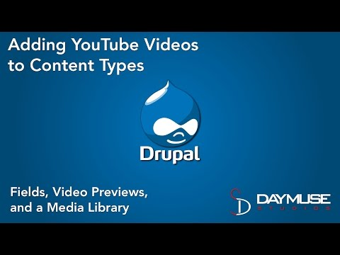 Drupal Media Module and Media: YouTube Video Tutorial