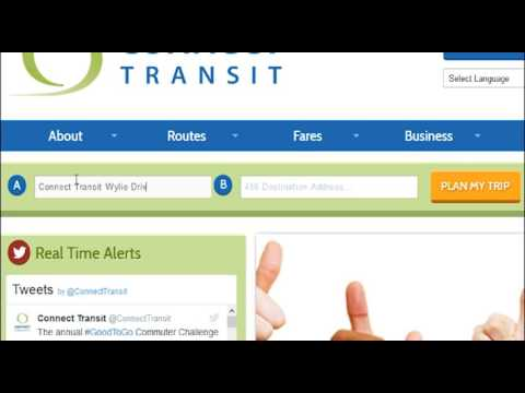 How to Plan Your Next Trip with Connect Transit