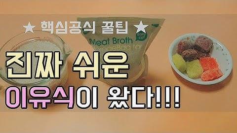 초기,중기,후기 l  이유식만들기 2탄_ 큐브 밥솥 냄비이유식! (엄마와 아기 모두 즐거워지는 꿀팁 방법♡)