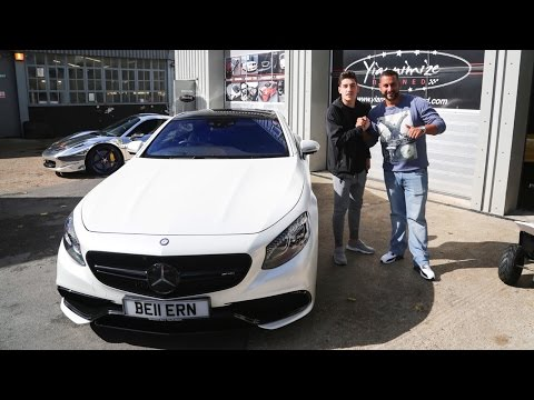 Arsenal's Hector Bellerin gets his S63 coupe Wrapped!