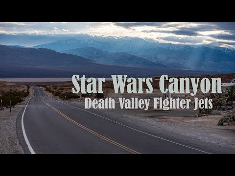 Star Wars Canyon 2019 - Jedi Transition (4K) - Death Valley Jets