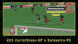 Winning Eleven 10: Estaduais 2016 (PS2) #23 Corinthians-SP x Salgueiro-PE