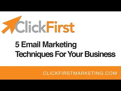5 Email Marketing Techniques For Your Business