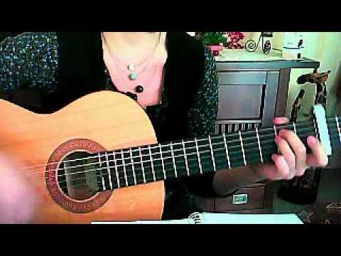 Mando Diao, all my senses, Tutorial, Gitarre, guitar, how to play
